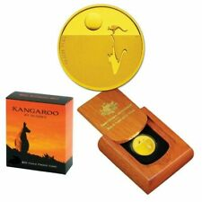 💰2014 Kangaroo at Sunset $25 1/5oz Gold Proof Coin - RAM - 8th Coin In Series