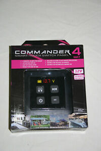 KT Commander 4 Smart-Touch Switch Panel - 4 Way KT70952