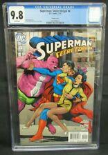 Superman: Secret Origin #4 (2010) Gary Frank Variant Cover Parasite CGC 9.8 X656