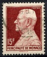 Monaco 1949-1959 SG#396, 15f Prince Louis II Used #A84214