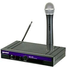 GEMINI VHF 1001 M Microphone Sans fil à la main Crème glacée Nouveau Avec