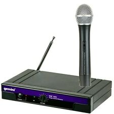 Ensemble Micro Simple HF sans fil Gemini Vhf-1001m-microphones