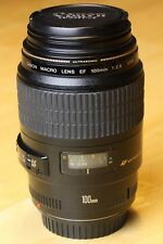 Canon EF 100 USM Macro f2.8, perfect working condition