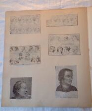 Georgian gravure une prints from scap livre caricature