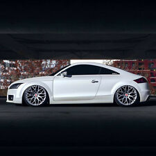 """20"""" Audi TT MK2 Alloy Wheels - Raywell JRR - Hyper Silver - 5x112"""