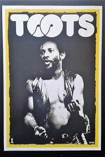 TOOTS/ LIVE * 1991 ORIGINAL ISLAND RECORDS POSTER* MAYTALS POP REGGAE SKA RARE