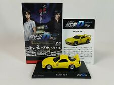 1:64 Kyosho Initial D Legend 3 Mazda RX-7 FD3S Red Suns Keisuke Takahashi Yellow