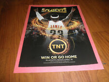 Original LEBRON JAMES TNT Playoffs  AD-2010