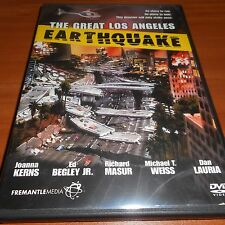 The Great Los Angeles Earthquake (DVD, 2006, Full Length Mini-Series) Used Las