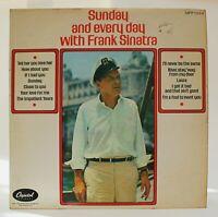 "Sunday and Everyday with Frank Sinatra 12"" LP Vinyl 1969 FREE UK P&P"