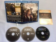 The Hobbit: An Unexpected Journey (Blu-ray Disc, 2013, 3-Disc Set, Canadian)