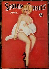 STOLEN SWEETS MAGAZINE - APRIL 1935 - VOLUME 2 #1
