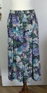 Dormy Vintage Cotton Skirt - Size 18 Lined & Elasticated at the back