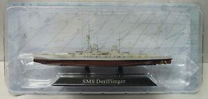 "Schlachtkreuzer ""S.M.S.Derflinger"", 1913, Atlas, 1:1250, Fertigmodell, Neu"