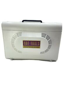 Hot Tools Professional Soft Bonnet Hair Dryer With 4 Heat Setting Used & Works!!