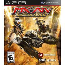MX vs. ATV: Supercross PS3 [Brand New]