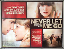 Cinema Poster: NEVER LET ME GO 2011 (Quad) Keira Knightley Carey Mulligan