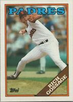 Rich Gossage 1988 Topps Baseball Card #170 San Diego Padres
