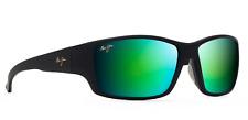 Maui Jim GM810-27M LOCAL KINE Black/Green Mirror Polarized Sunglasses NEW