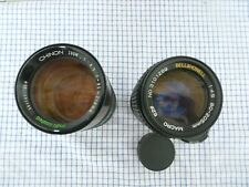 2 vintage lenes , chino / bell and howell