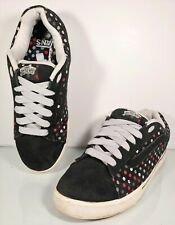 d4cceb1836c18a VANS Dustin Dollin Men s Sz 9 No Skool Black RARE Polka Dot Skateboard Shoes