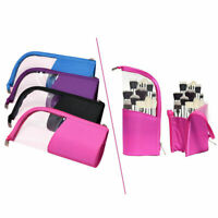 Portable Makeup Case Brush Holder Stand Organizer Bag Cosmetic Pouch Waterproof