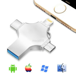 1TB 256G OTG USB 3.0 Flash Drive Memory Stick Type C Thumb For iPhone Android PC