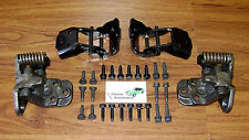 Door Hinge Set 28pc w/bolts 66-67 Chevelle Camaro GTO Cutlass Skylark hinges