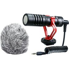 Vidpro XM-CM Compact Micro Video Microphone & Integrated Shock Mount, Windscreen