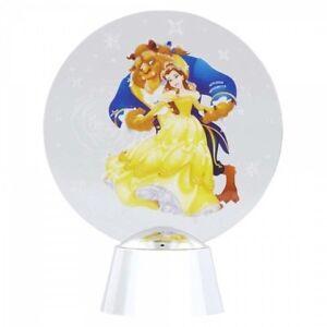 Disney Showcase Beauty & The Beast Holidazzler Led Illuminated Light Up Display