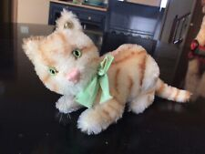 STEIFF Mohair TABBY CAT REPLICA 1928 MUSEUM COLLECTION LIMITED EDITION Of 6000
