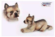 Wolf Baby liegend 37 cm Kuscheltier Stofftier Plüschtier Hansa Toy 6741