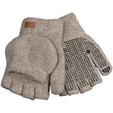 Kinco Gloves 5210 - Lined Knit Shell Half-Finger w/Convertible Mitt Hood - Ragg