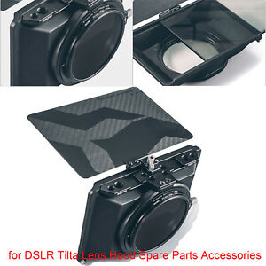 Black For DSLR Tilta Lens Hood Acces Tilta MB-T15 Mini Clamp On Matte Box Mini