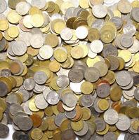 Konvolut Kiloware - Nur exotische Münzen aus Welt - 1 KILOGRAMM - 1 Kg - LOT