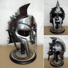 NEW GLADIATOR MAXIMUS MEDIEVAL ARMOUR HELMET 300 MOVIE SPARTAN HELMET REPLICA