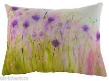 "17""x13"" Deep Purple Sue Fenlon Cushion Evans Lichfield DP964 43x33cm Flowers"