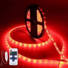 Wireless Waterproof LED Strip Light 16ft For Boat / Truck / Car/ Suv / Rv Red