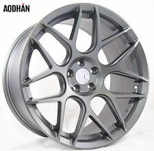 18X8 18X9 +30 AodHan LS002 5X120 Black Wheel Fit BMW 2 3 4 5 Z4 5X4.75 STAGGERED