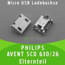 ✅ PHILIPS AVENT SCD 630/26 ELTERNTEIL Micro USB Ladebuchse Buchse Port Connector