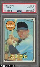 1969 Topps #312 Lee Elia Chicago Cubs PSA 8 NM-MT