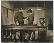 Haydee Politoff e Gabriele Ferzetti  Vintage silver print Tirage argentique