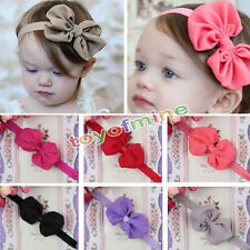 10pcs Cute Kids Girls Baby Toddler Flower Bow Headband Hair Band Headwear
