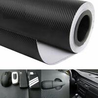 127x40cm Auto 3D Carbon Folie Blasenfrei Matt Wrapping Wasserdicht Schwarz Decal