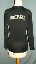 oneill skins cycling jersey Medium Black long sleeve  50+UV protection