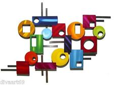 Peace out wall Sculpture #4 -Contemporary Modern Geometric Abstract wall decor