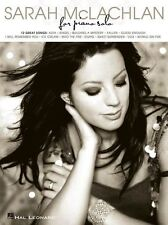 Sarah McLachlan For Piano Solo Play AIDA Angel Into the Fire Music Book