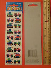 Amscan Autocollants STICKERS ~ Army Tank, Jeep, 18 Colorful Military Vehicles
