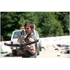 Norman Reedus in The Walking Dead as Daryl White Truck 8 x 10 Inch Photo