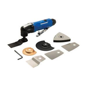 Oscillating Air Multi Tool Cutter Sander Grinder 195mm & 7 Accessory 850533 NEW